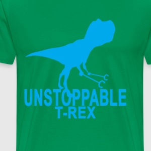unstoppable_trex - Men's Premium T-Shirt