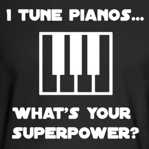 Piano Tuner Shirt - Men's Long Sleeve T-Shirt