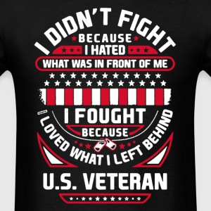 Proud Veteran Shirt - Men's T-Shirt