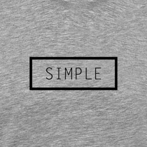 Simple Tee - Men's Premium T-Shirt