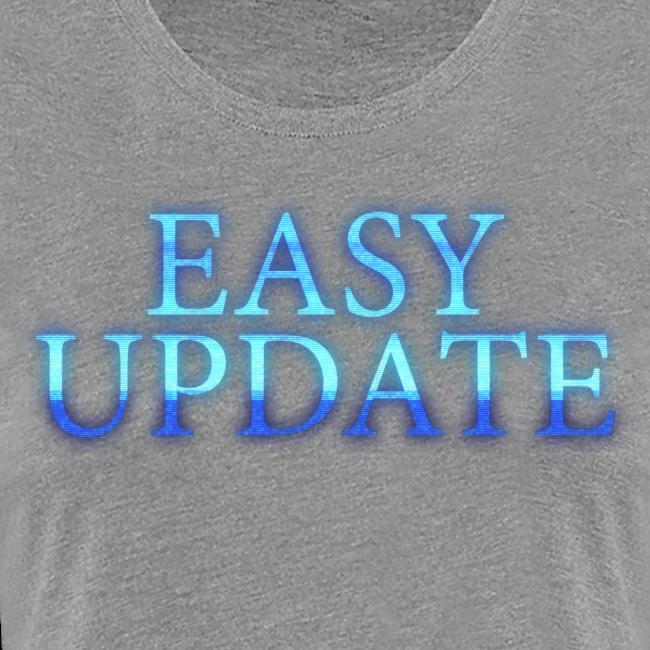 Easy Update Logo Blue