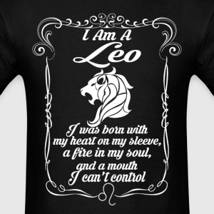 I Am A Leo T-Shirts - Men's T-Shirt
