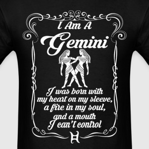I AM A GEMINI T-Shirts - Men's T-Shirt