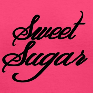 Sweet-Sugar T-Shirts - Women's V-Neck T-Shirt