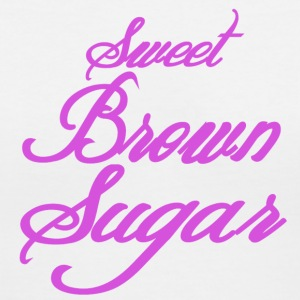 Sweet-Brown-Sugar T-Shirts - Women's V-Neck T-Shirt