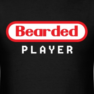Bearded Player T-Shirts - Men's T-Shirt