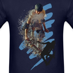 Skaterboarders - Men's T-Shirt