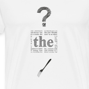 WTF Mens Tshirt - Men's Premium T-Shirt