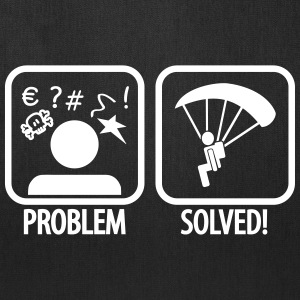 problem solved skydiving Bags & backpacks - Tote Bag