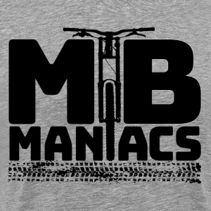 Mountain Bike Maniac Shirt - Men's Premium T-Shirt