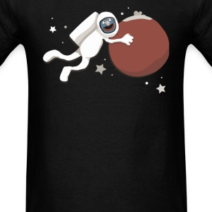 Grover goes to Mars - Men's T-Shirt
