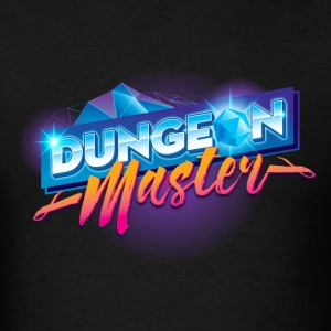 Dungeon Master & Dragons Outrun - Men's T-Shirt