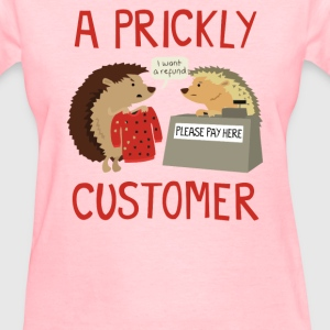 A Prickly Customer - Women's T-Shirt
