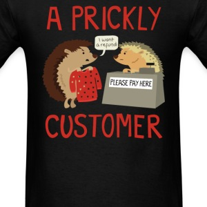 A Prickly Customer - Men's T-Shirt