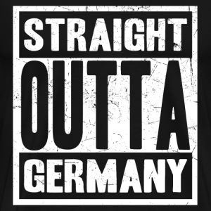 Germany - Straight outta germany awesome tee - Men's Premium T-Shirt