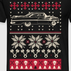 Freaking awesome christmas sweater car lover - Men's Premium T-Shirt