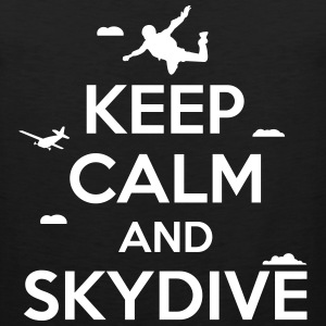keep calm and skydive Sportswear - Men's Premium Tank
