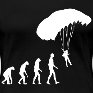 evolution skydiving T-Shirts - Women's Premium T-Shirt