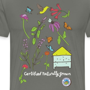Pollinator and Wildflower Shirt T-Shirts - Men's Premium T-Shirt