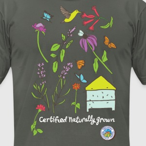 Pollinator and Wildflower Shirt T-Shirts - Men's T-Shirt by American Apparel