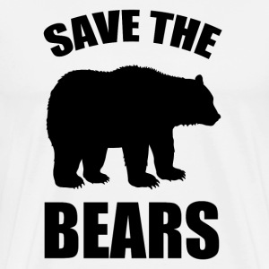SAVE A BEARS1.png T-Shirts - Men's Premium T-Shirt