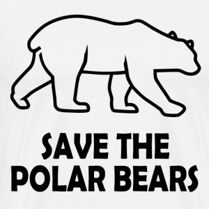 POLAR BEARS 9.png T-Shirts - Men's Premium T-Shirt