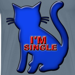 I'm Single - Men's Premium T-Shirt
