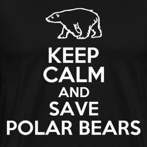 KEEP CALM POLAR BEARS2.png T-Shirts - Men's Premium T-Shirt