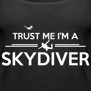 trust me skydiver Tanks - Women's Premium Tank Top