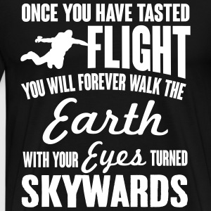 once you've tasted flight T-Shirts - Men's Premium T-Shirt