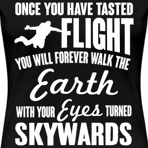 once you've tasted flight T-Shirts - Women's Premium T-Shirt