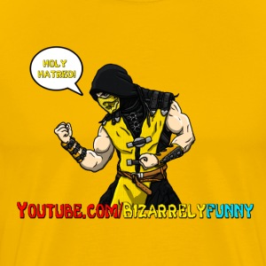 Scorpion Real Mortal Kombat Youtube - Men's Premium T-Shirt