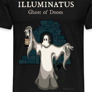 Illuminatus, ghost of doom - Men's Premium T-Shirt