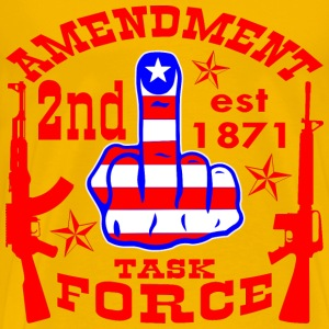2nd Amendment Task Force  - Men's Premium T-Shirt