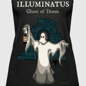 Illuminatus Ghost of Doom - Women's Premium Tank Top