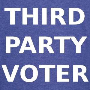 Third Party Voter T-Shirts - Vintage Sport T-Shirt