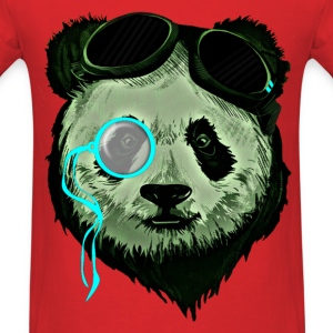 Monocle Bear - Men's T-Shirt