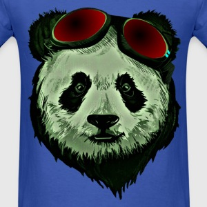 Panda Bear Red glasses - Men's T-Shirt