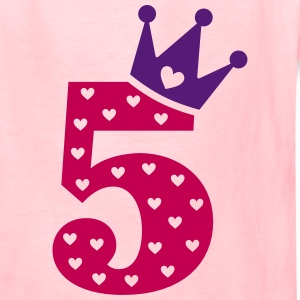 5th Birthday / crown Kids' Shirts - Kids' T-Shirt