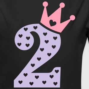 2nd Birthday / crown Baby Bodysuits - Long Sleeve Baby Bodysuit