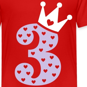 3rd Birthday / crown Baby & Toddler Shirts - Toddler Premium T-Shirt