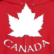 Design ~ Men's Canada Hoodie Canada Maple Leaf Shirts