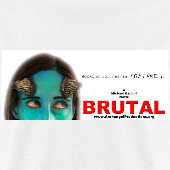 BRUTAL teaser poster