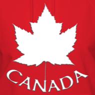 Design ~ Women's Canada Hoodie Canada Maple Leaf Shirts