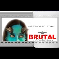 Design ~ BRUTAL teaser poster