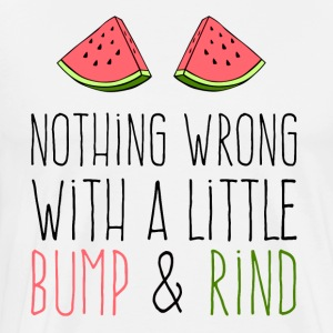 Watermelon Bump and Rind - Men's Premium T-Shirt