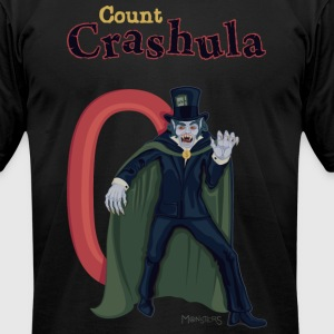 Count Crashula, money cash. - Men's T-Shirt by American Apparel
