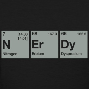 Nerdy Periodic Table Word T-Shirts - Women's T-Shirt