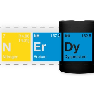 Nerdy Periodic Table Word Mugs & Drinkware - Full Color Panoramic Mug