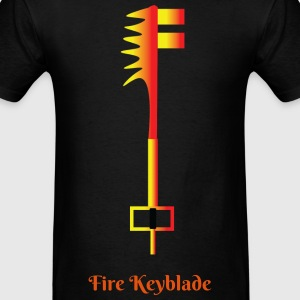 Fire Keyblade - Men's T-Shirt
